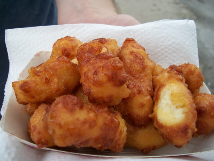 Wisconsin cheese curds.