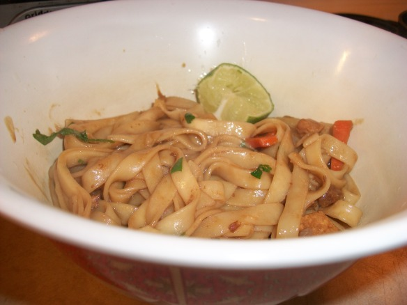 Quick 'n Easy Noodle Lunch