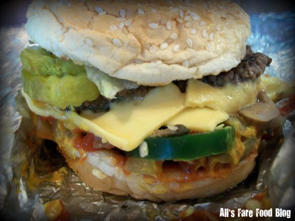 Brett's burger