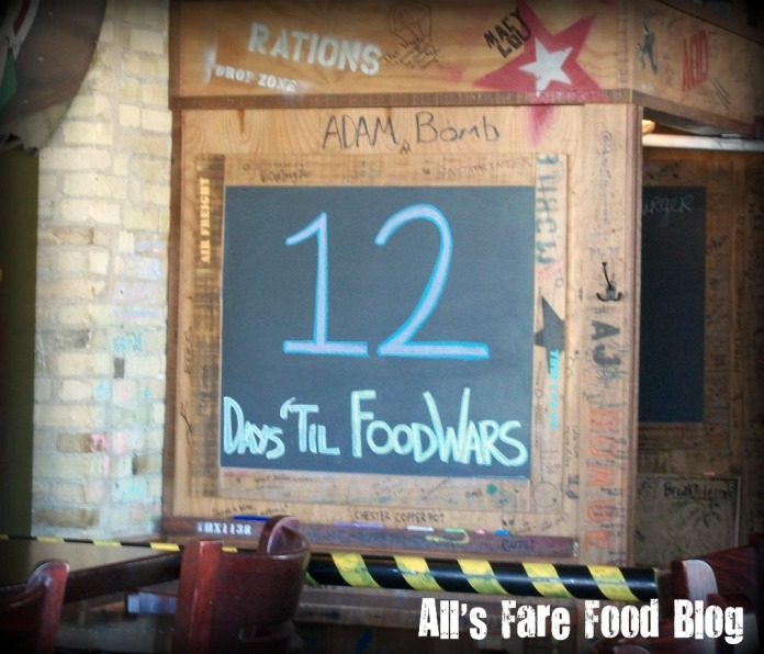 The countdown to Food Wars.