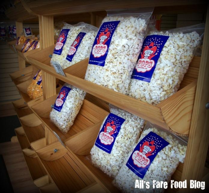 Plain popcorn