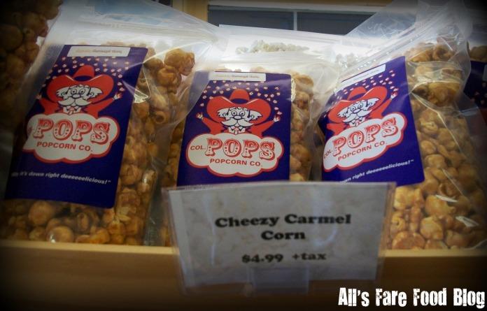 Cheesy caramel corn