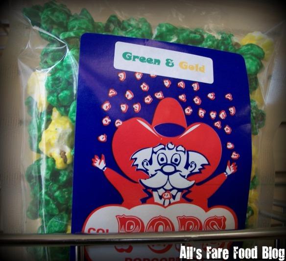 Green & Gold popcorn
