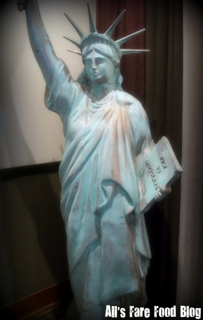 Statue of Liberty at Blue's Egg