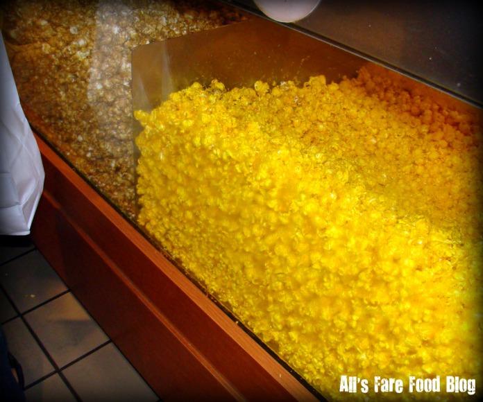Display of popcorn.
