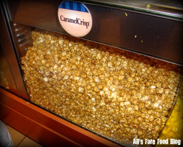 CaramelCrisp popcorn from Garrett's.