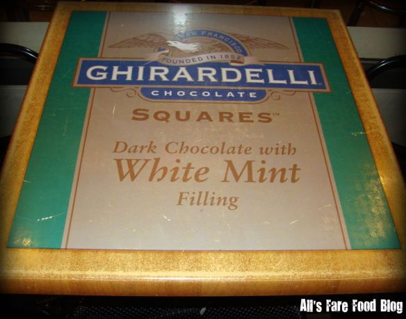 Tables at Ghirardelli Chicago