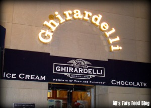 Ghirardelli entrance in Chciago
