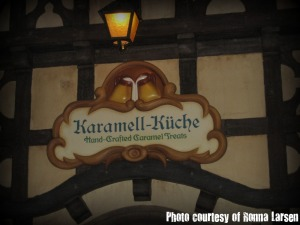 Entrance to Karamell-Kuche at Epcot