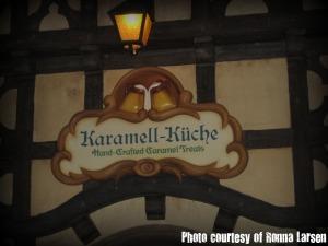 Entrance to Karamell-Kuche at Epcot