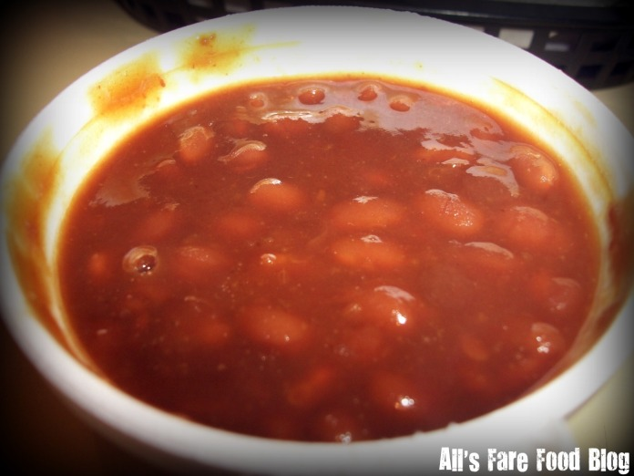 Baked beans at Pat's Rib Place