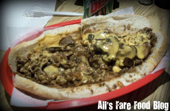 The cheesesteak at the Philly Way.