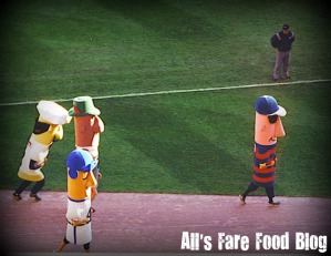 The Sausage Race at Miller Park