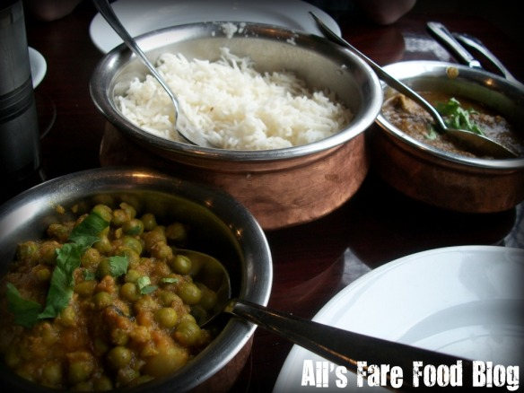 Aloo Mutter at Passage to India