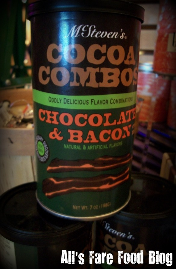 Bacon-flavored hot cocoa
