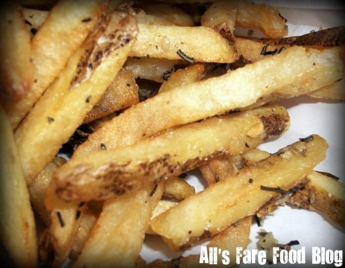 Garlic-rosemary fries at Dr. Dawg