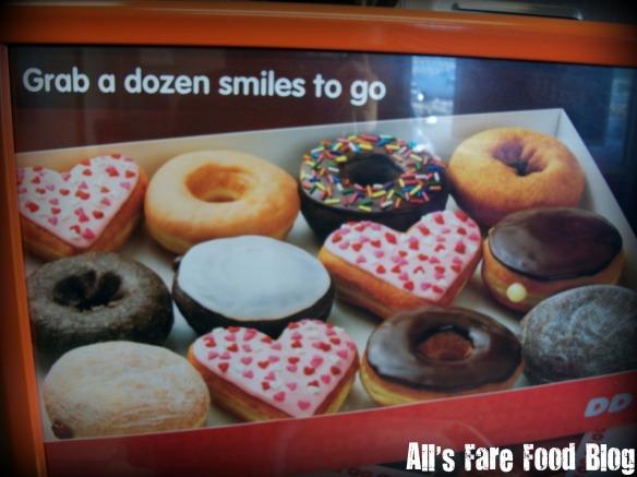 Valentine's donuts at DD