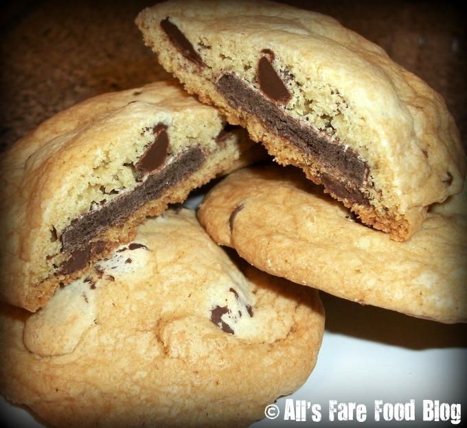 Cookie-Stuffed Chocolate Chip Cookies