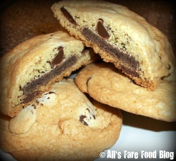 Stuffed Chocolate Chip Cookies
