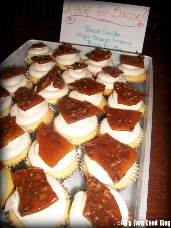 Bacon cupcakes