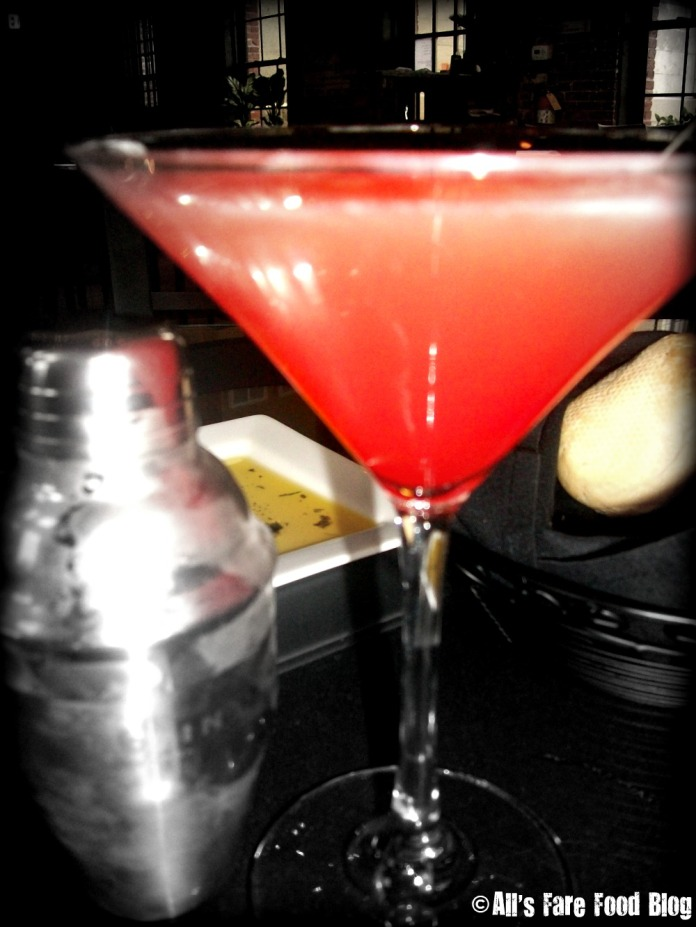 Pineapple Upside Down martini