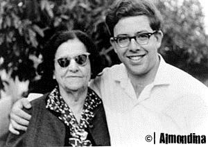 Yuval and his grandmother Dina - Almondina