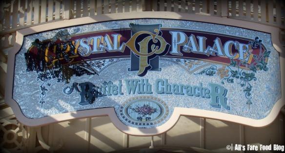 Entrance at Disney's Crystal Palace