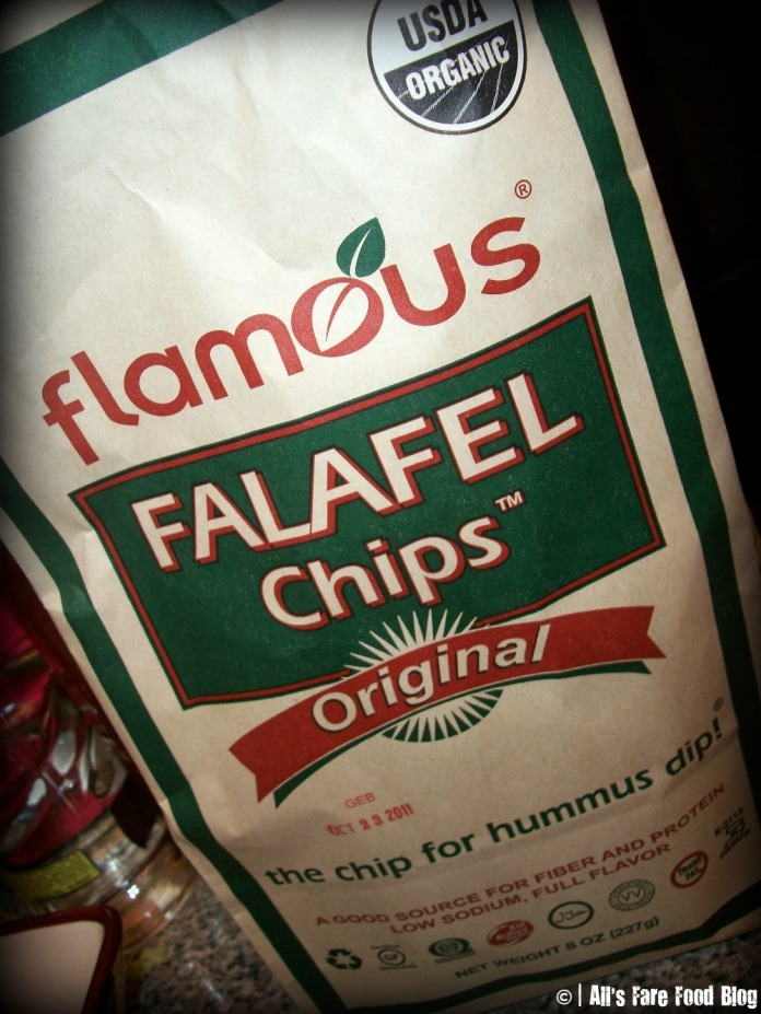 Flamous falafel chips