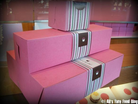 Boxes for Kara's Cupcakes