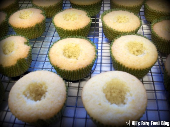 Making holes in your cupcakes