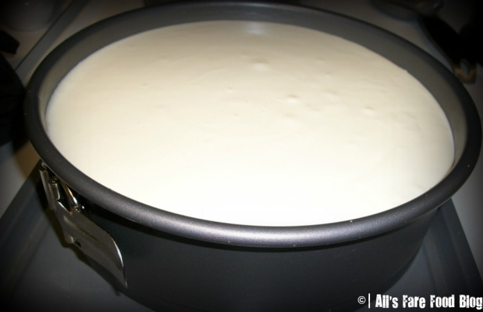 Cheesecake filling