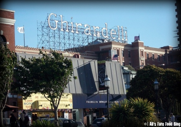 Ghirardelli Square from the waterfront