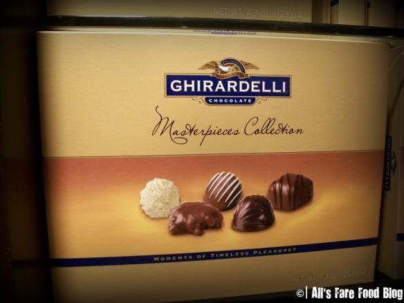 Masterpiece Chocolate Box at Ghirardelli
