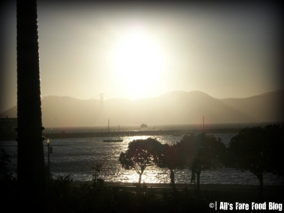 San Francisco Sunset over the Golden Gate Bridge