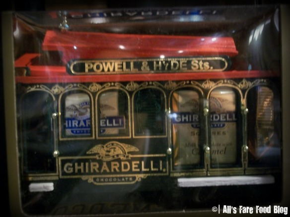 Ghirardelli Cable Car Gift