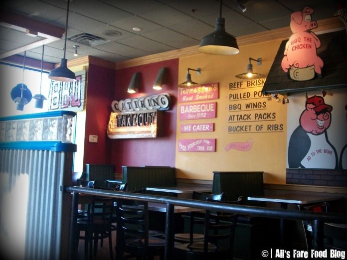 Interior of Tennessee's Barbecue in Peabody