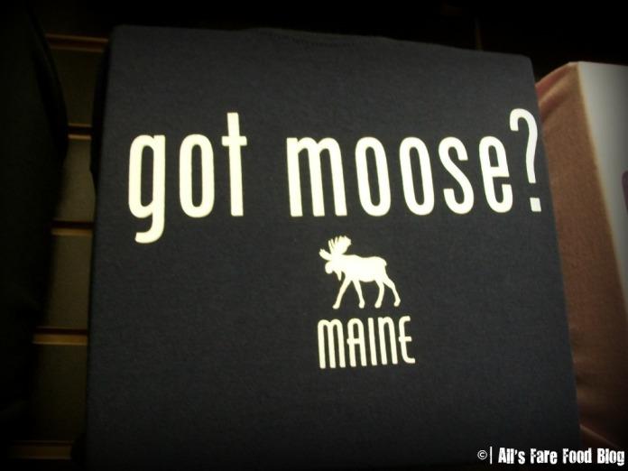 Got Moose T-shirt at Yummies