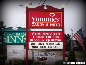 Yummie's exterior sign