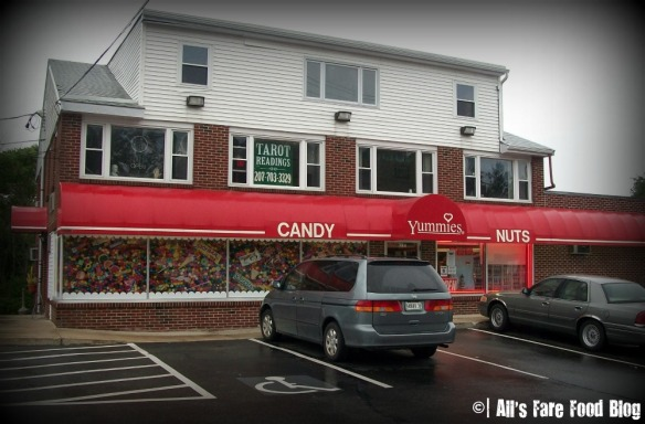 Yummies exterior shot on Route 1