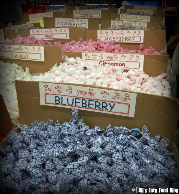 Saltwater taffy at Yummies