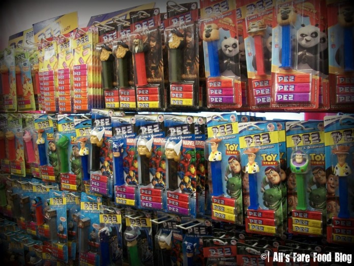 Pez dispensers at Yummies