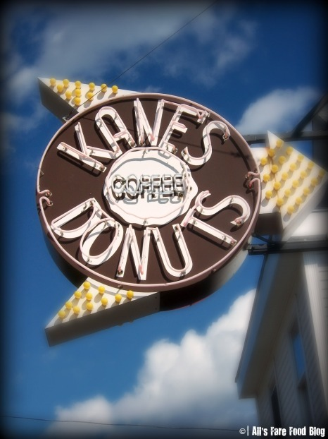 Kane's Donuts exterior sign