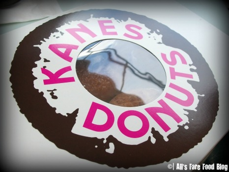 Box of six donuts from Kane's Donuts