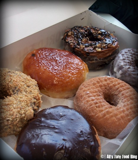 Donut variety from Kane's Donuts