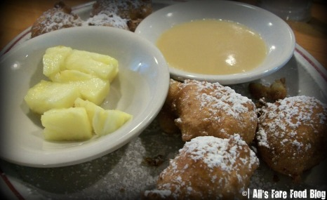 Pineapple fritters at Sugar Mags