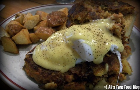 Corned beef hash at Sugar Mags