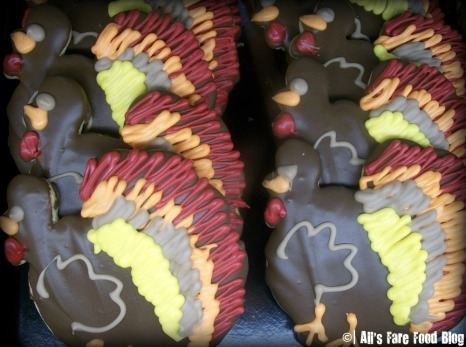 turkey cookies from Elegant Farmer