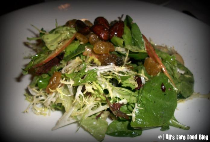 Fuji apple salad at Yamaguchi's