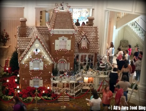 Grand Floridian Gingerbread House at Walt Disney World