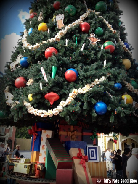 Christmas Tree on Main Street USA